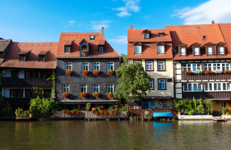 Bamberg – Häuser am Fluss - © arsdigital