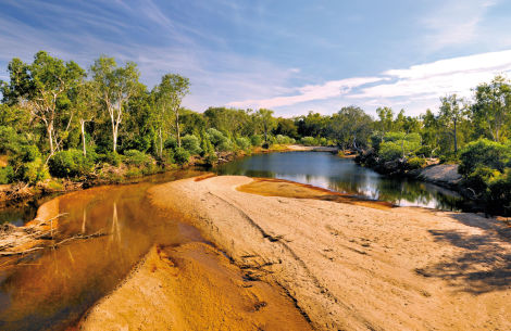 Barramundi Creek im Kakadu Nationalpark - © TextArt/Fotolia.com