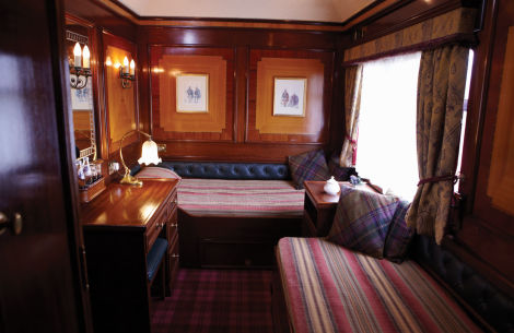 Twin Cabin The Royal Scotsman - © Belmond 1995-2018