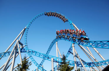 blue fire Megacoaster powered by GAZPROM - © Europa-Park GmbH & Co Mack KG