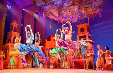 Musical-Szene Aladdin - © Stage Entertainment