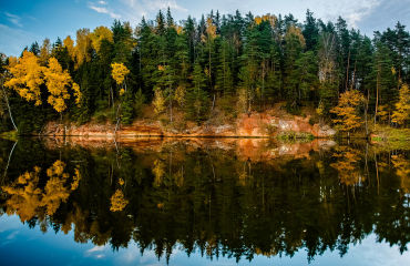 Nationalpark Gauja - © Copyright: www.BALTICPICTURES.LV