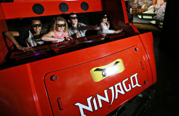 LEGO® NINJAGO® The Ride Attraktion - © LEGOLAND® Deutschland Resort
